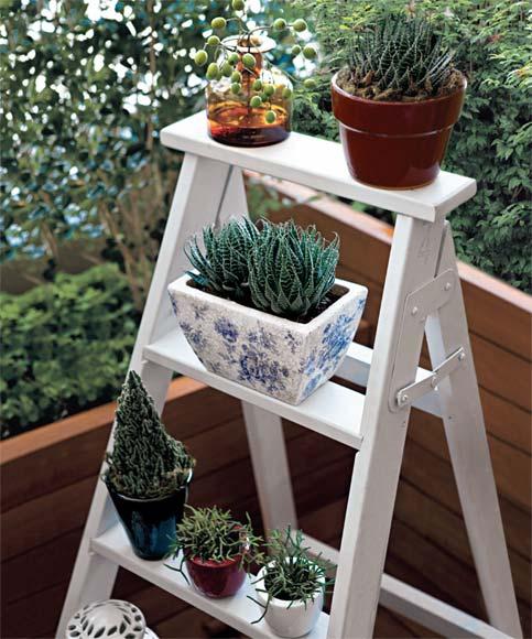 horta jardim na varanda: passo Horta-Jardim na varanda