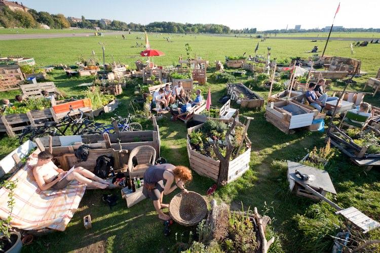 horta jardim na varanda: de Berlim transformado em horta urbana